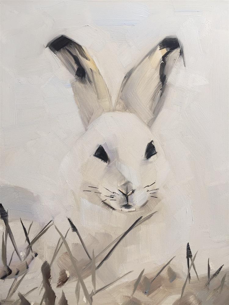 """""""456 In the Bleak Midwinter"""" original fine art by Jenny Doh"""
