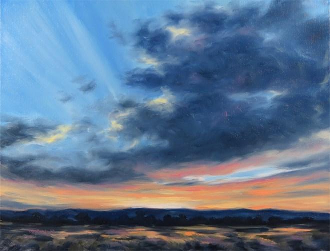 """""""Glowing Glory"""" original fine art by Carol Zirkle"""