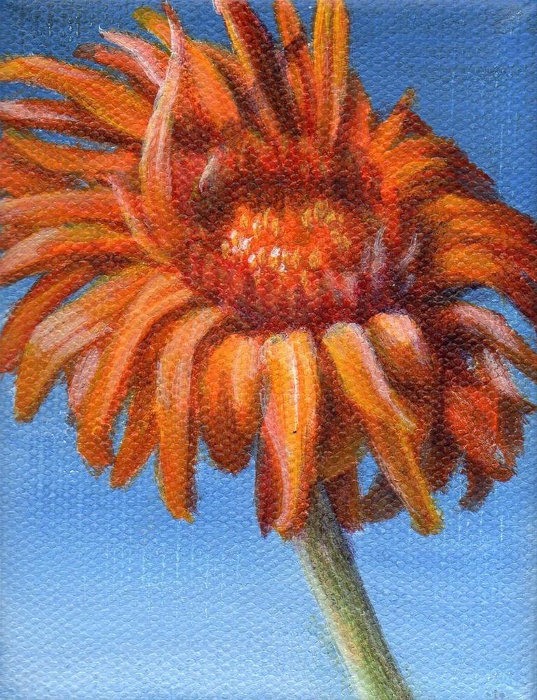 """Little Firecracker"" original fine art by Debbie Shirley"