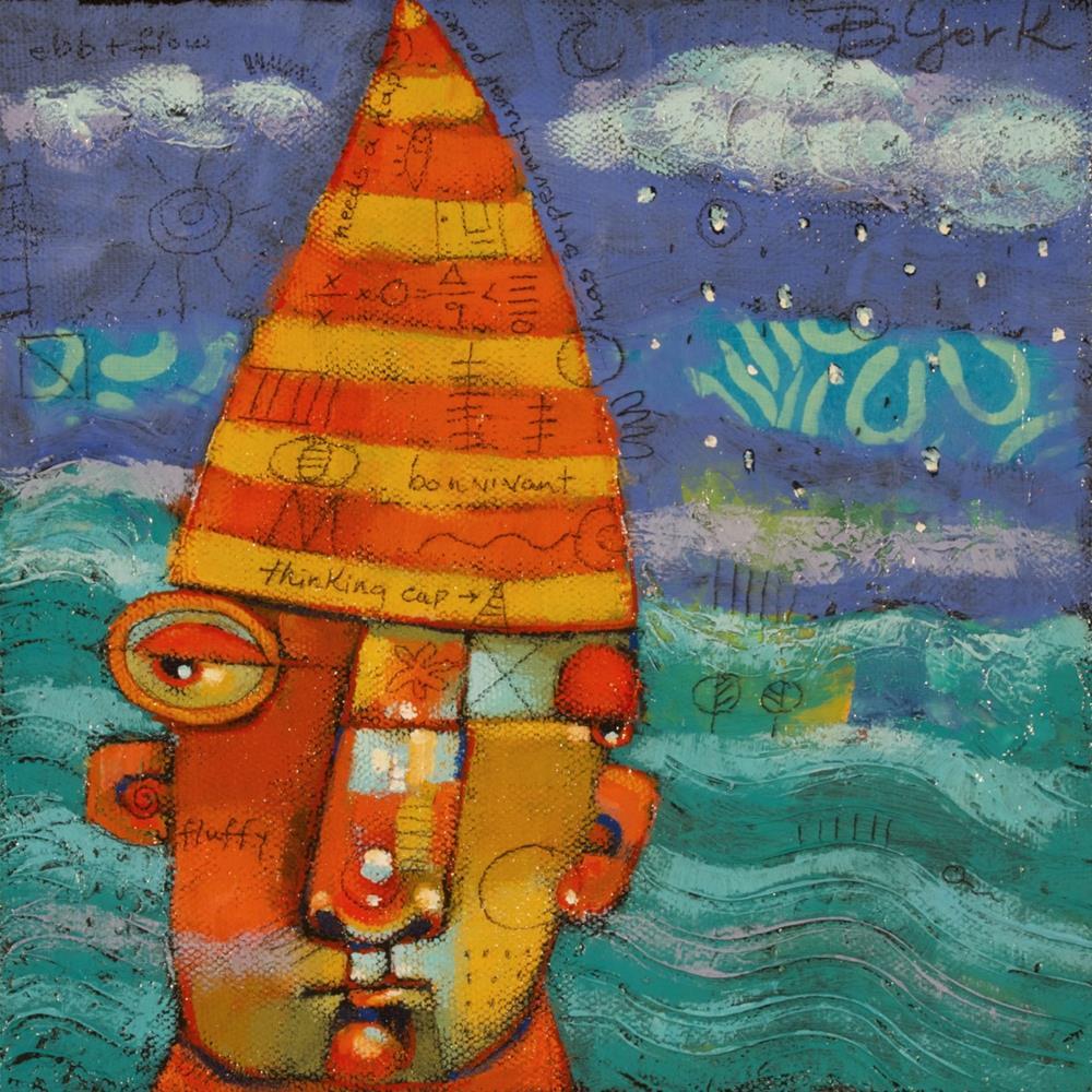 """Brainstorm"" original fine art by Brenda York"