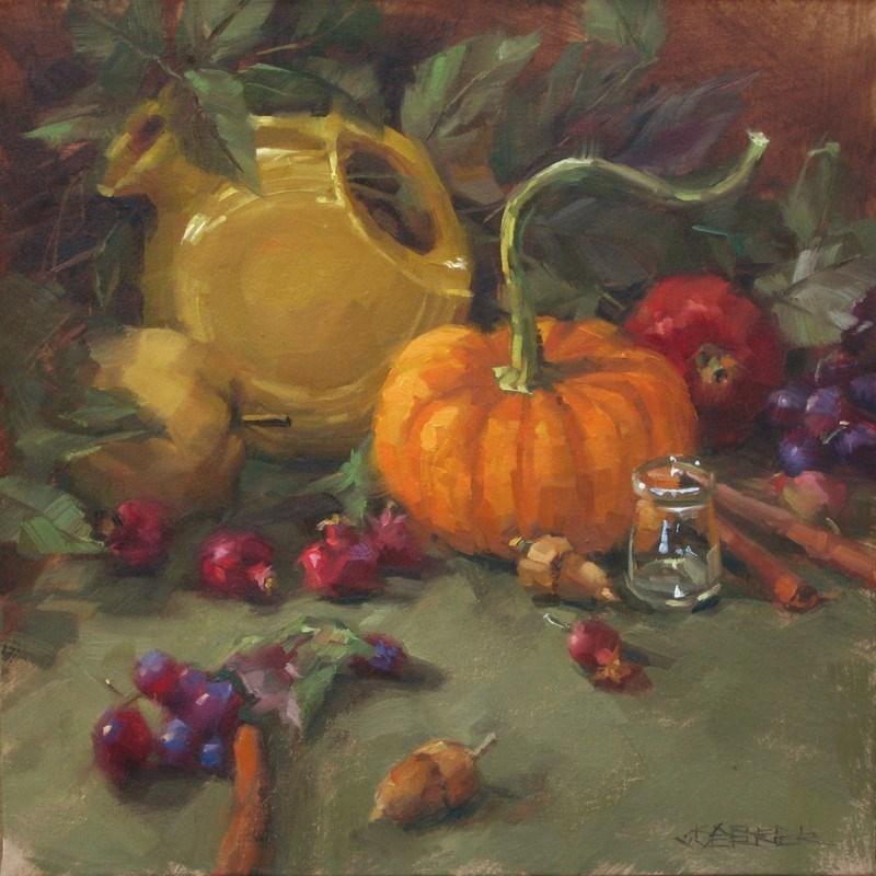 """""""Fall Color"""" original fine art by Karen Werner"""