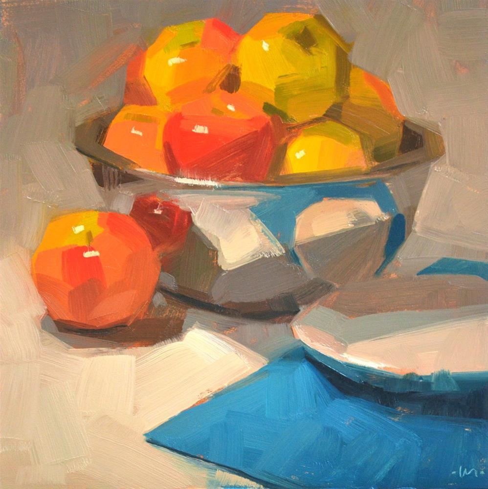 """Apple Mania"" original fine art by Carol Marine"
