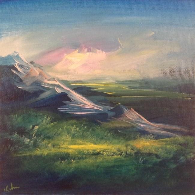 """Finding a Reason"" original fine art by David Kuhn"