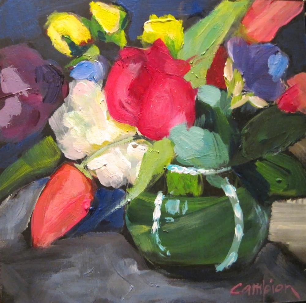 """303. Grateful"" original fine art by Diane Campion"