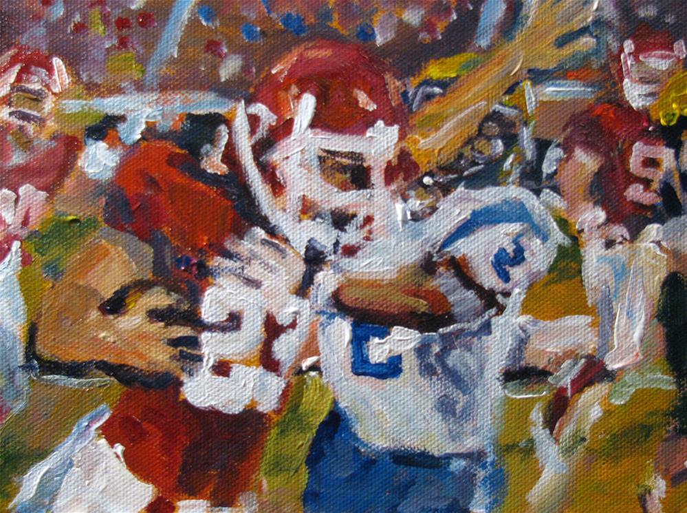 """""""Undefeated"""" original fine art by Susan Elizabeth Jones"""