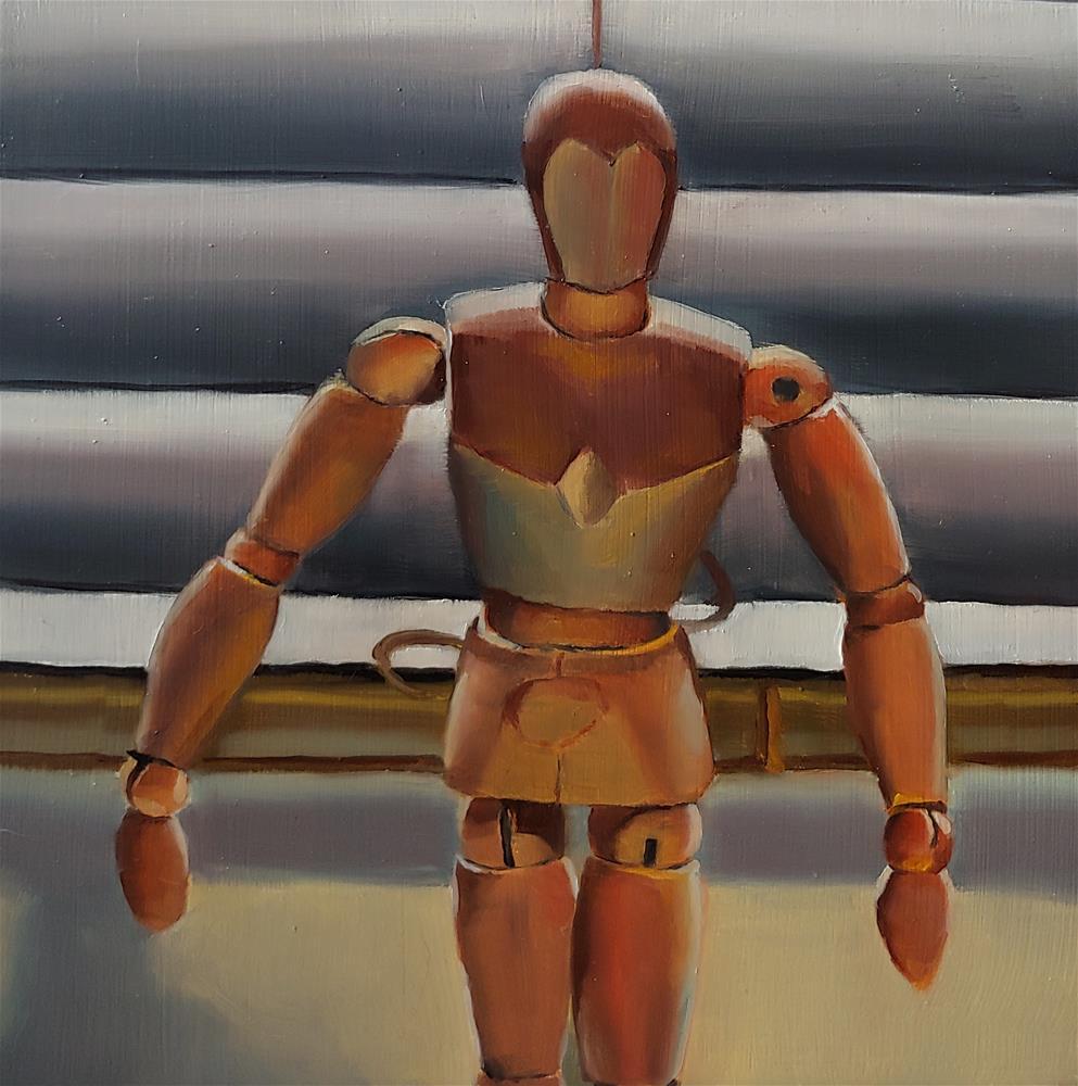 """""""Mannequin"""" original fine art by Edward Watson"""