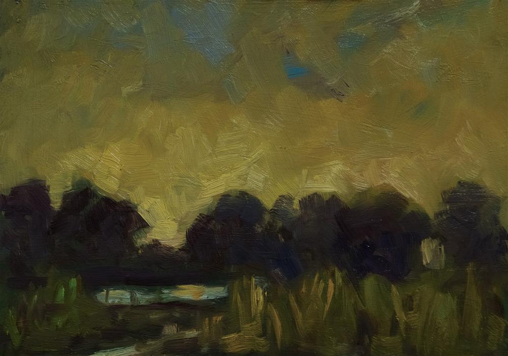 """Tonal Landscape #2"" original fine art by Andre Pallat"