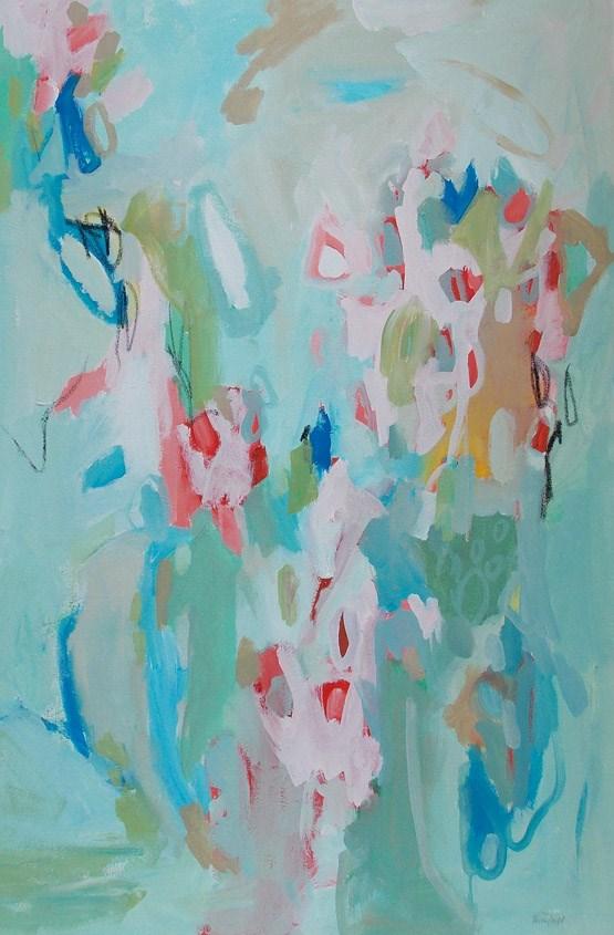"""Quicken"" original fine art by Pamela Munger"