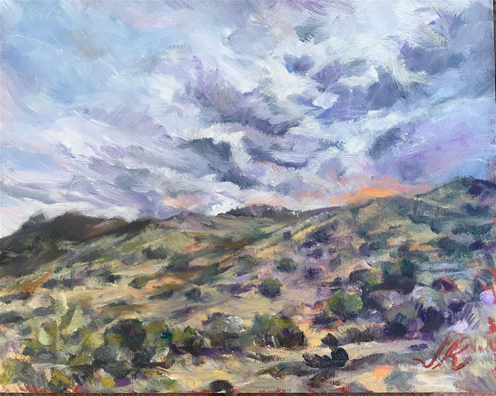 """Sonoran Desert"" original fine art by Jean Krueger"