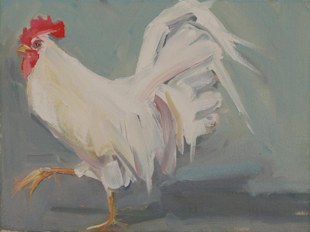 """""""walk this way"""" original fine art by Carol Carmichael"""