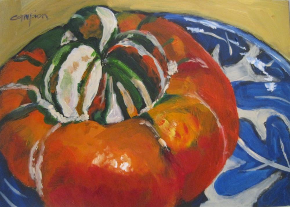 """""""468 Turk's Turban"""" original fine art by Diane Campion"""