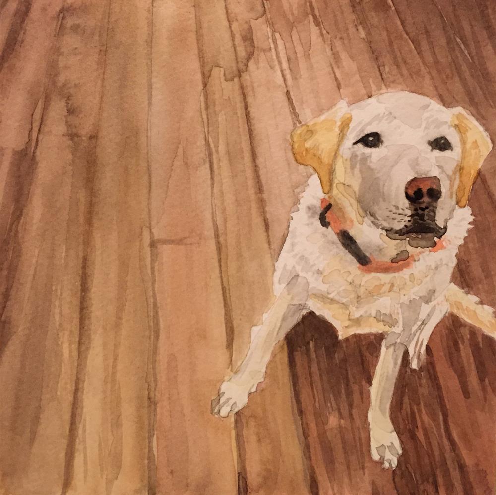 """Yellow-ish"" original fine art by Cindy McDonough"
