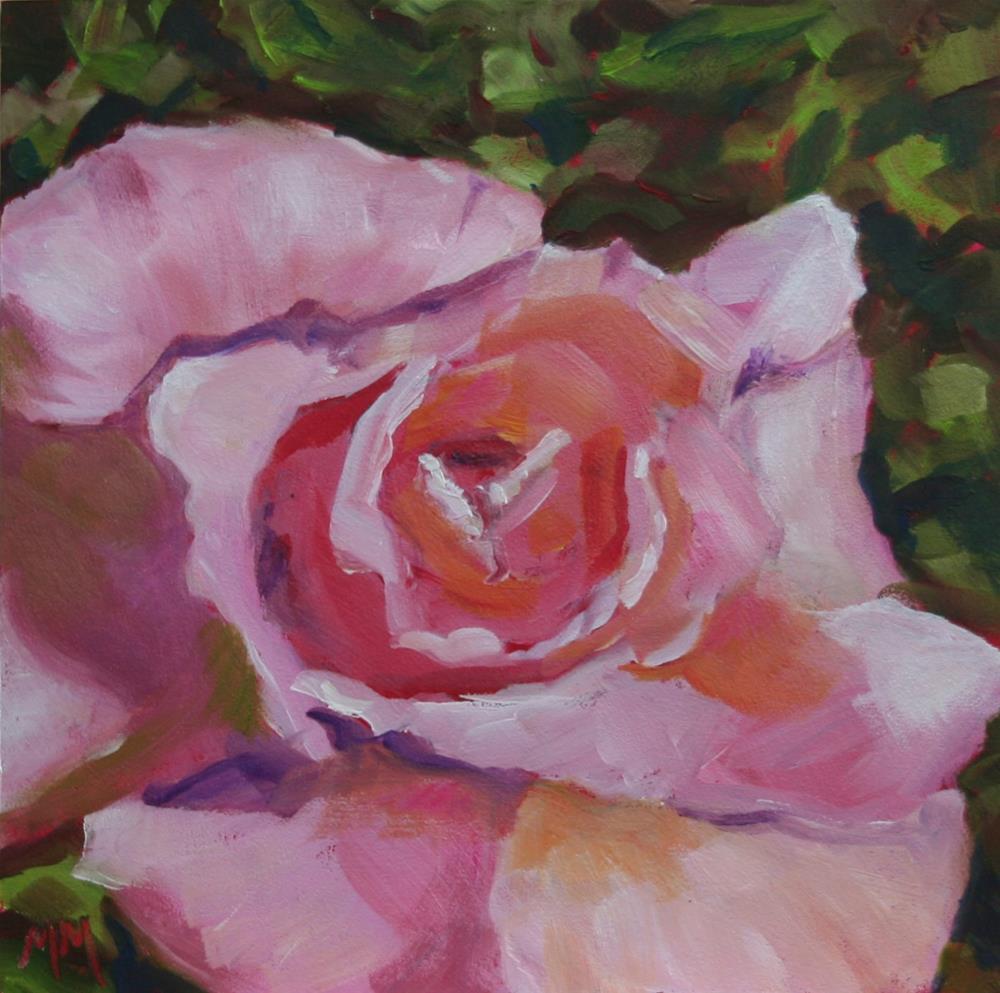 """Pink Sweetness"" original fine art by Maria McNitt"