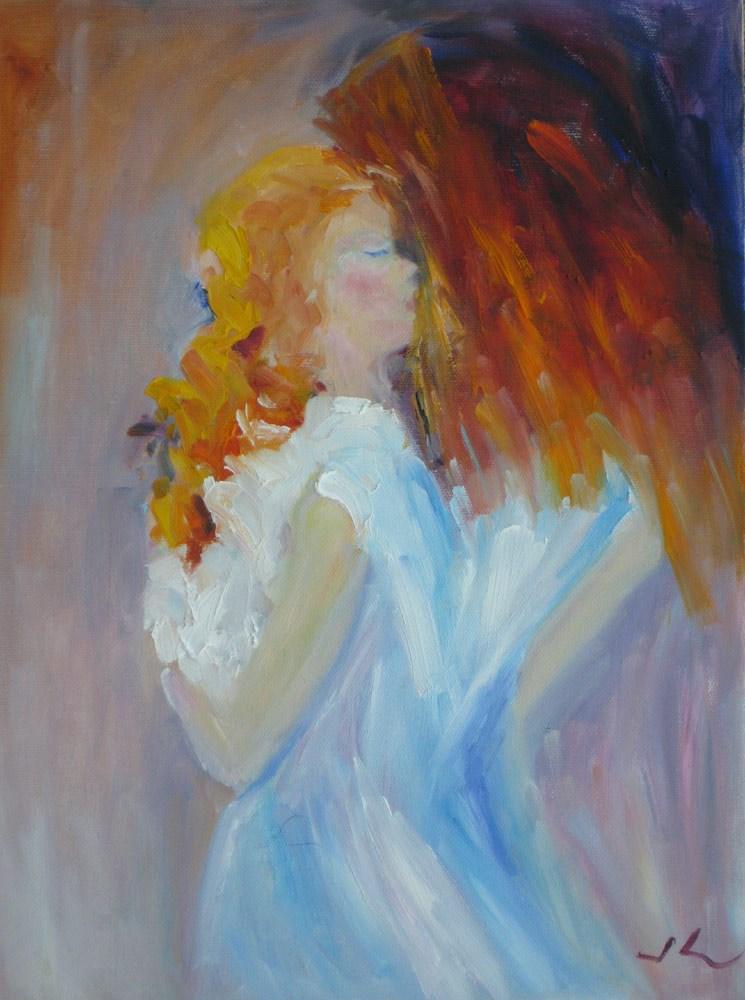 """Quiet Moment"" original fine art by Julia Lu"
