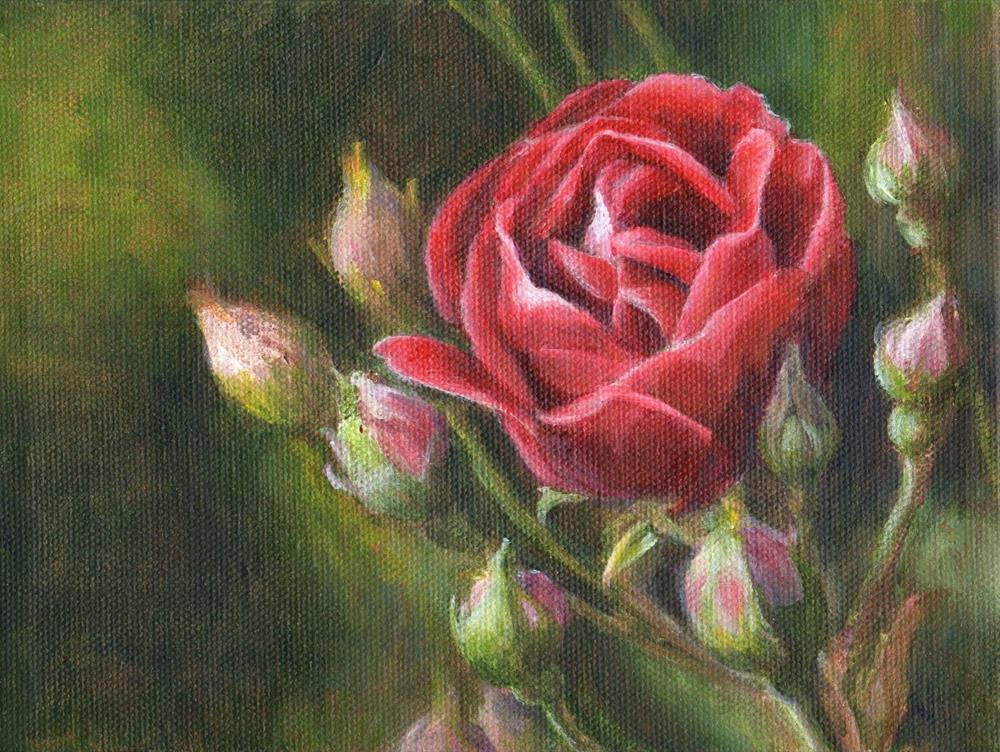 """Commission"" original fine art by Debbie Shirley"