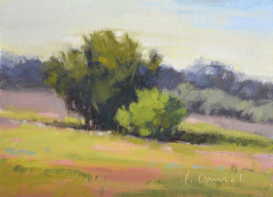 """Spring Returns"" original fine art by Laurel Daniel"