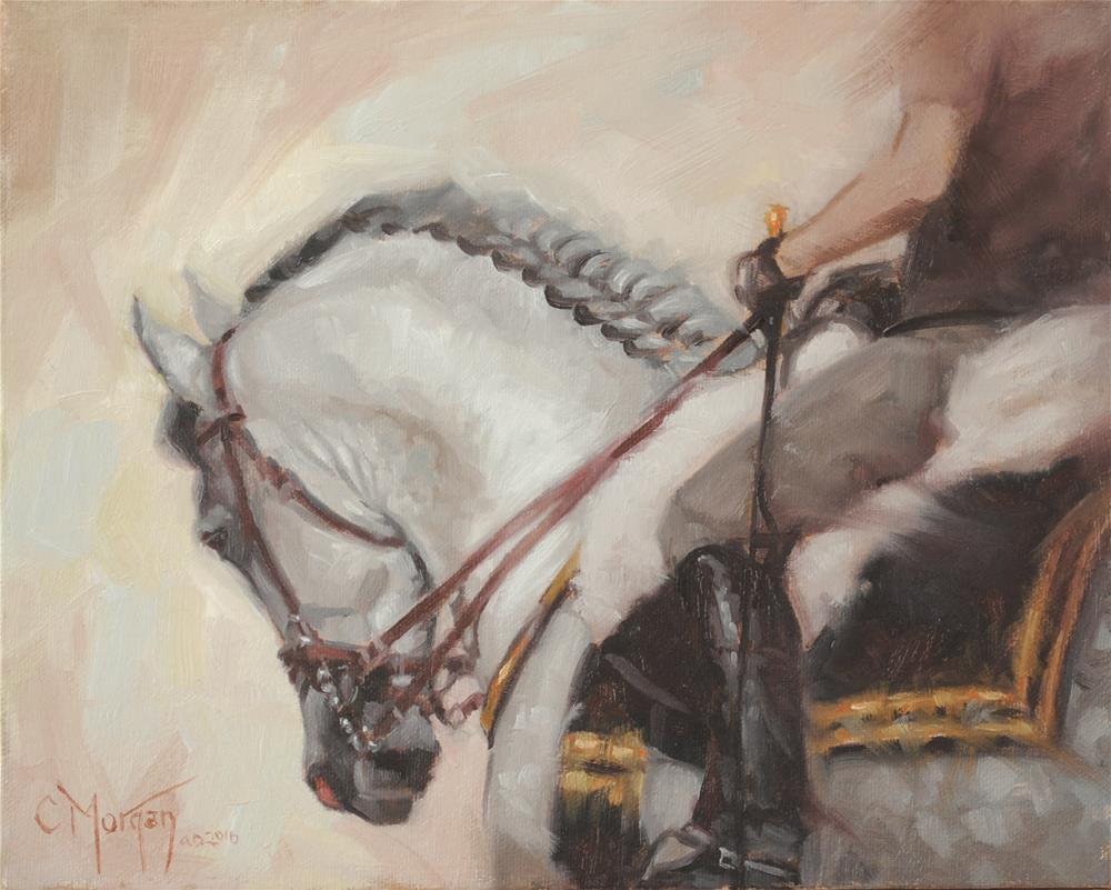 """""""Shades of Grey #2"""" original fine art by Cecile W. Morgan"""