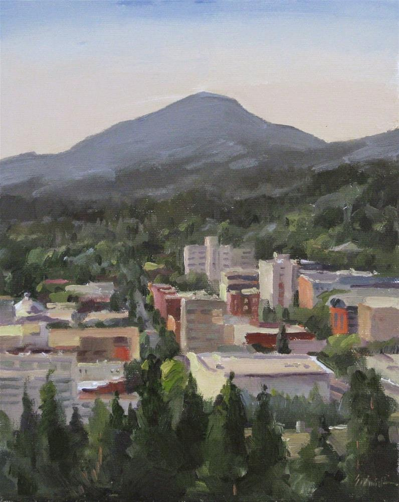 """""""View From Skinner Butte"""" original fine art by Sarah Sedwick"""