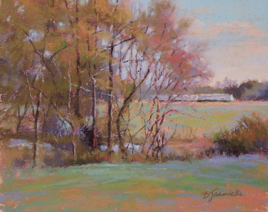 """""""Springtime Awakening"""" original fine art by Barbara Jaenicke"""