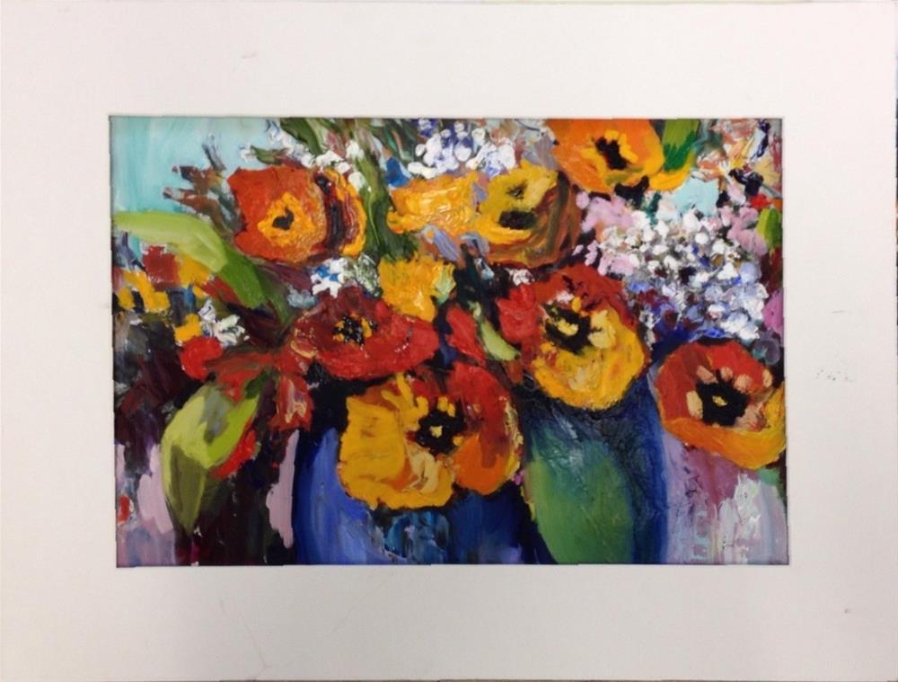 """""""Joyful"""" original fine art by Cathy Boyd"""