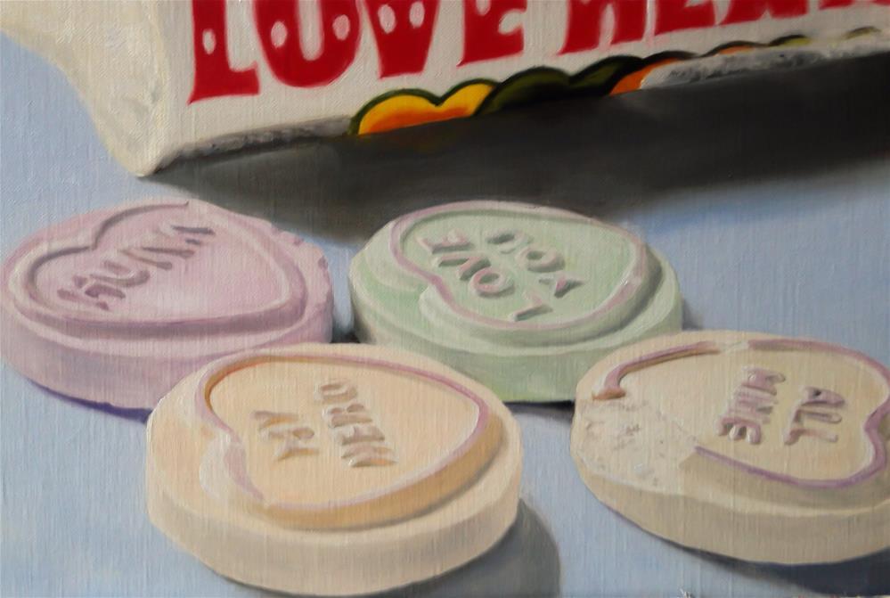 """Love Hearts"" original fine art by James Coates"