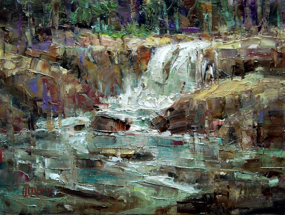"""Aspen Stream"" original fine art by Julie Ford Oliver"