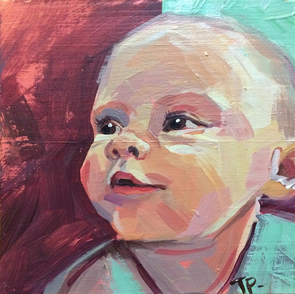 """Baby Fi"" original fine art by Teddi Parker"