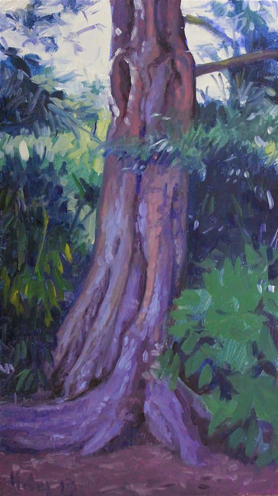"""Redwood"" original fine art by Ski Holm"