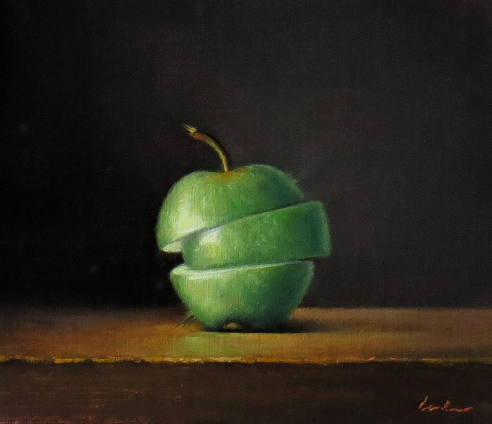 """Sliced"" original fine art by Darla McDowell"