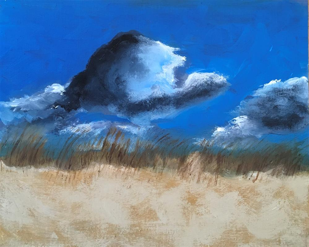 """Provincetown Dune"" original fine art by Patty Barnes"