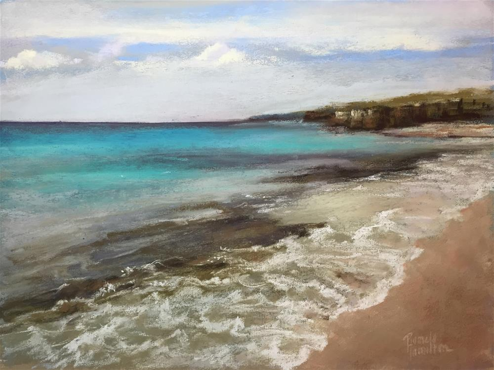"""Seashore"" original fine art by Pamela Hamilton"