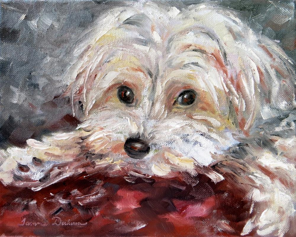 """Chewy"" original fine art by Tammie Dickerson"