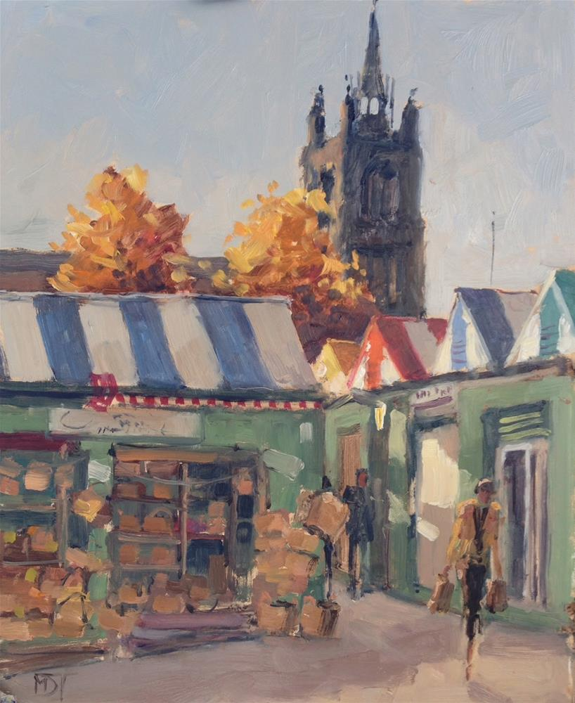 """""""Paint Out Norwich 2015"""" original fine art by Mo Teeuw"""