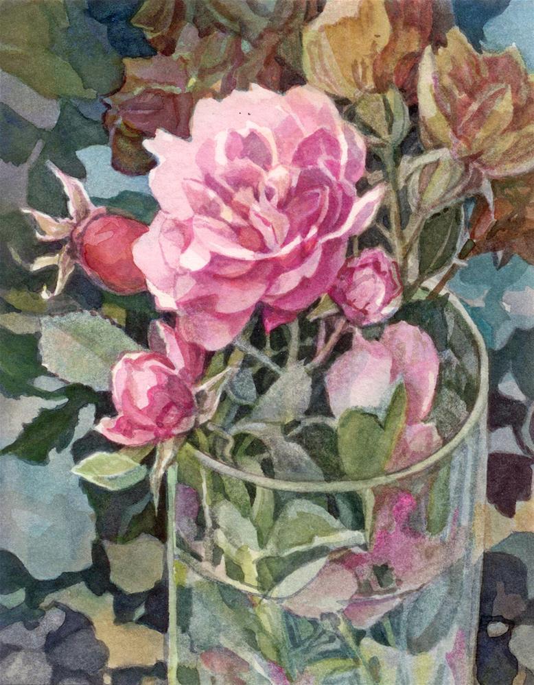 """""""Patterns"""" original fine art by Nicoletta Baumeister"""