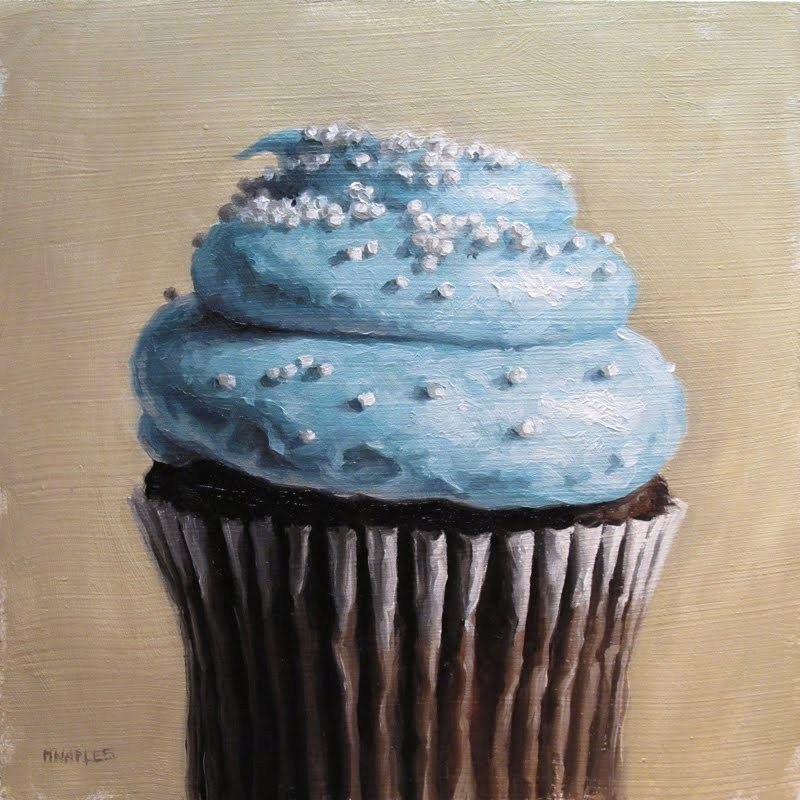 """Blue Frosting"" original fine art by Michael Naples"