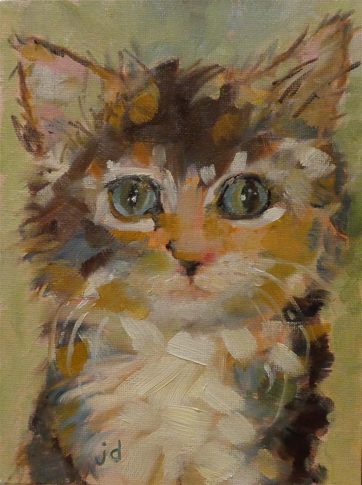 """""""Mesmerized"""" original fine art by Jean Delaney"""