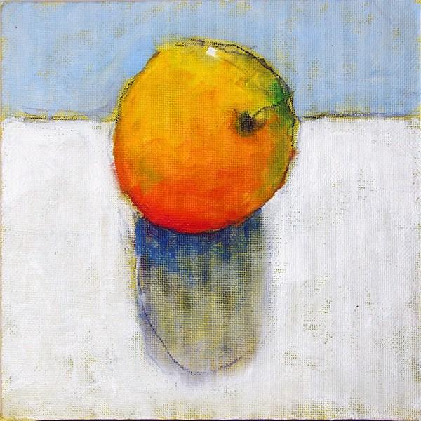 """one orange"" original fine art by Jack Jones"