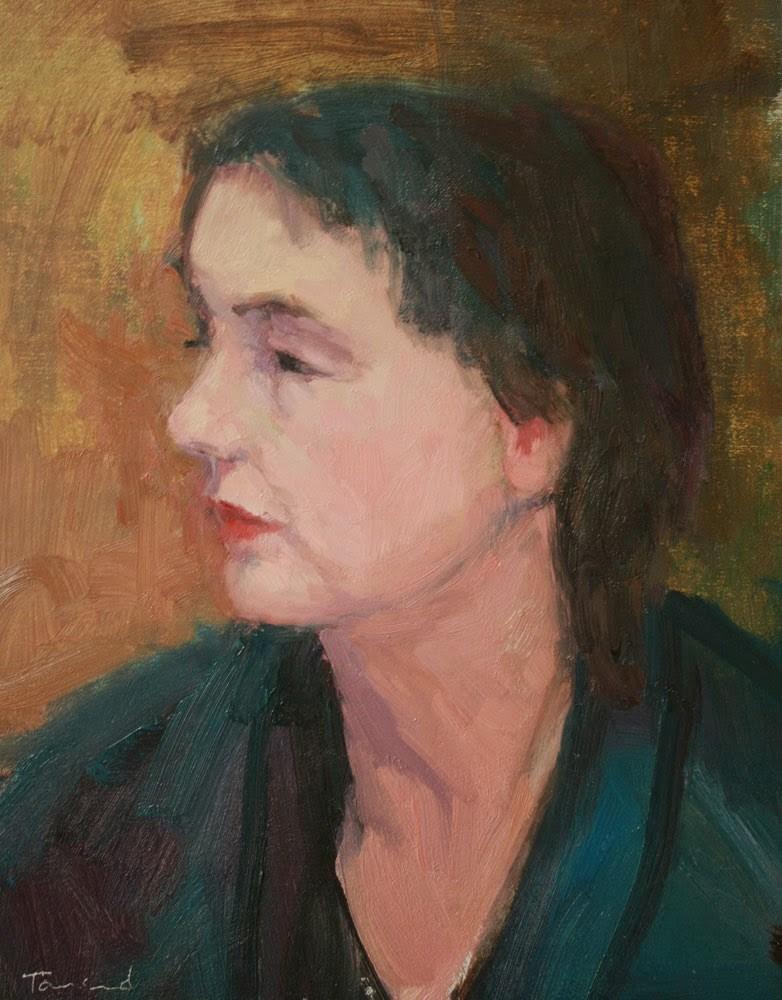 """Dana"" original fine art by Kathryn Townsend"