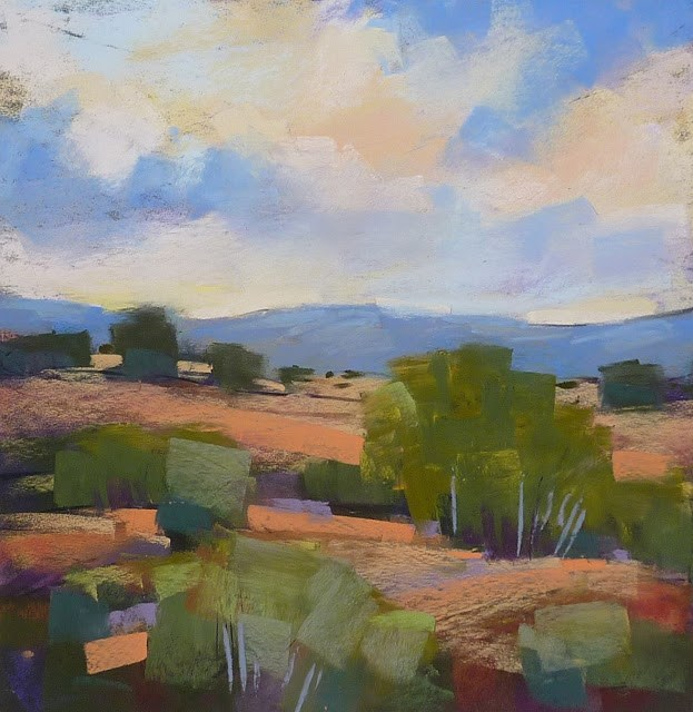 """Pastel Paper Review: Pastelmat"" original fine art by Karen Margulis"