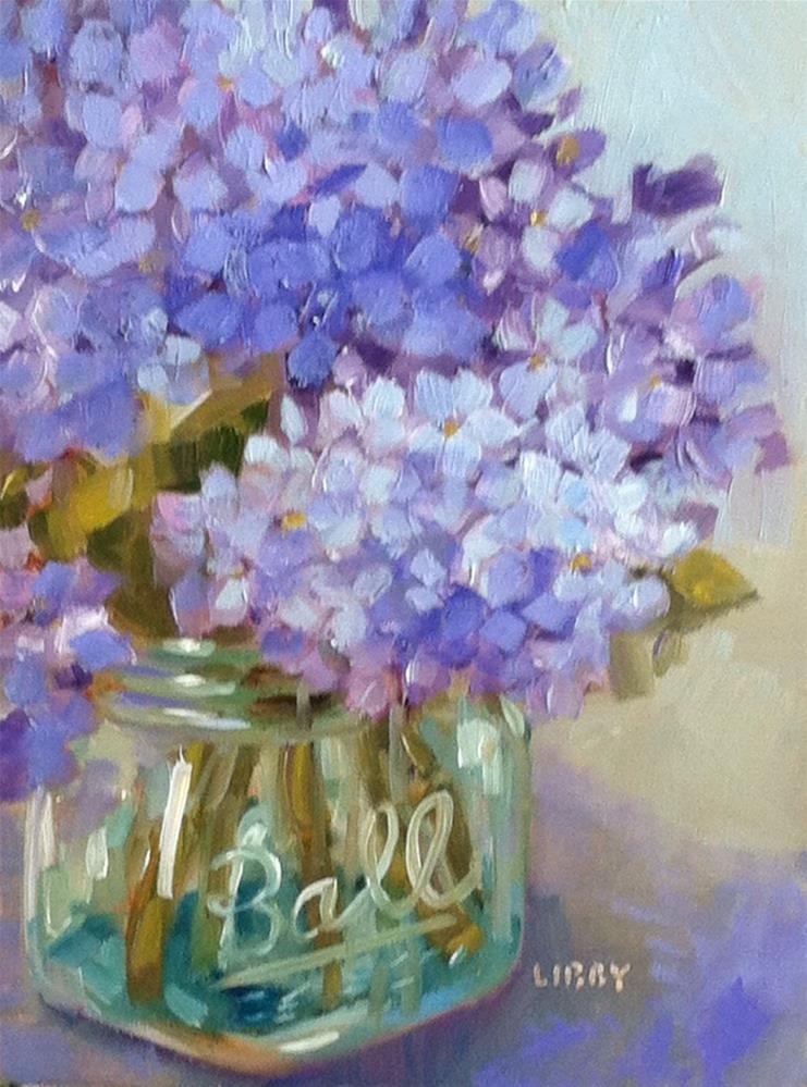 """Centerpiece"" original fine art by Libby Anderson"