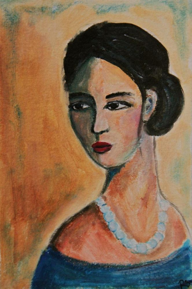 """Sophia"" original fine art by Roberta Schmidt"