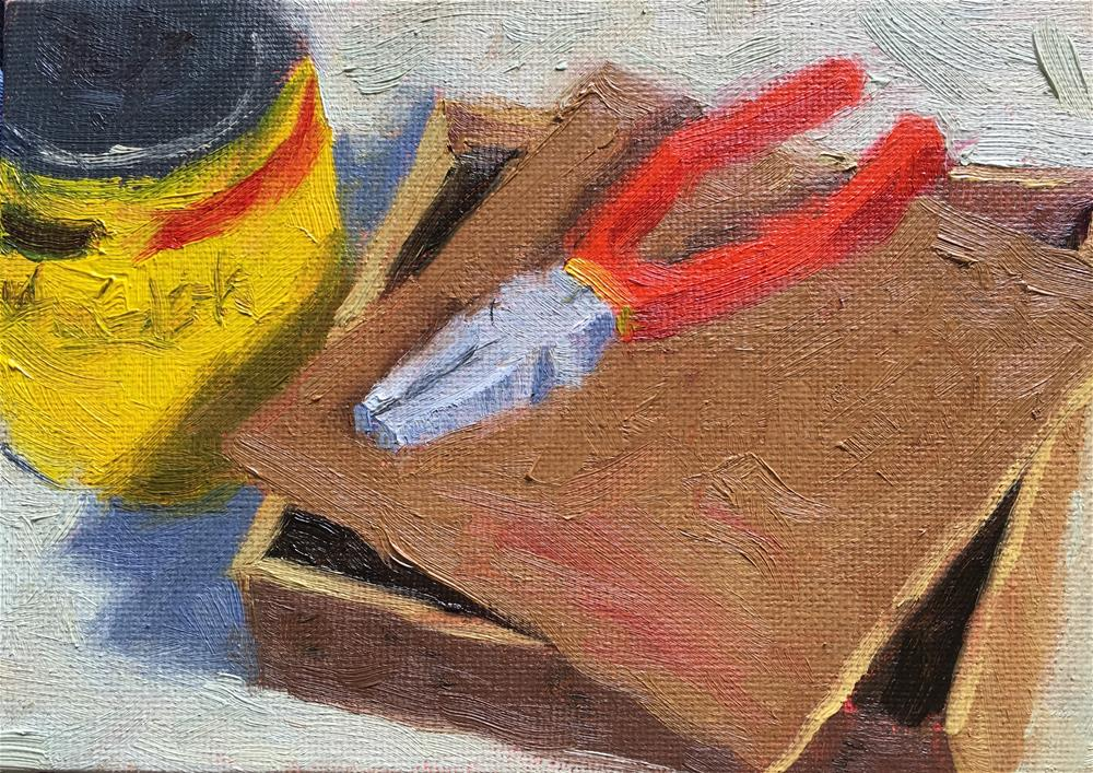 """""""Workshop Tools"""" original fine art by Tracy Wise"""