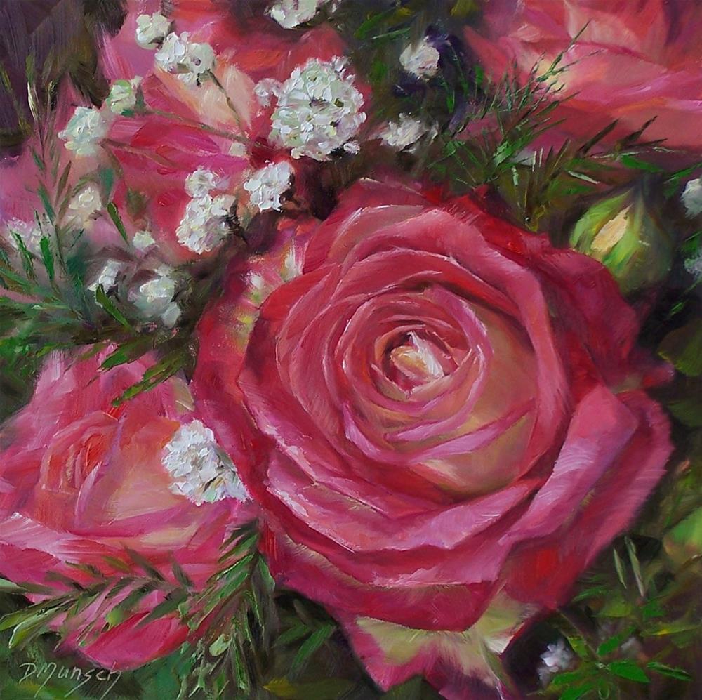 """""""Rosie"""" original fine art by Donna Munsch"""