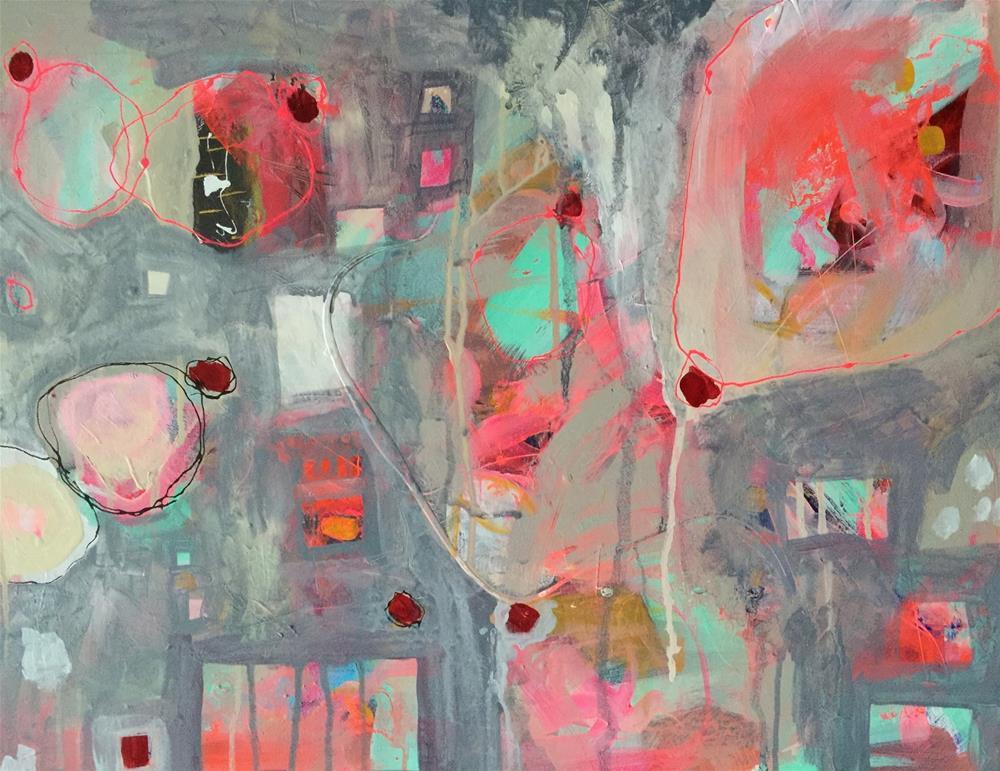 """""""46 Remission"""" original fine art by Jenny Doh"""