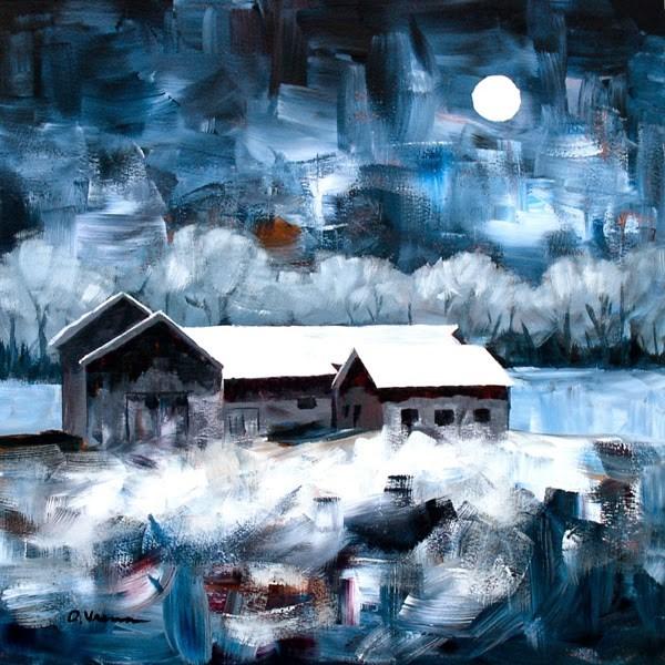 """""""Barn #22"""" original fine art by Anna Vreman"""