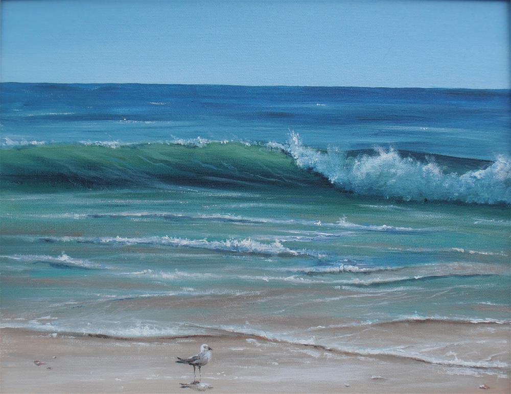 """Myrtle Beach"" original fine art by Terri Nicholson"
