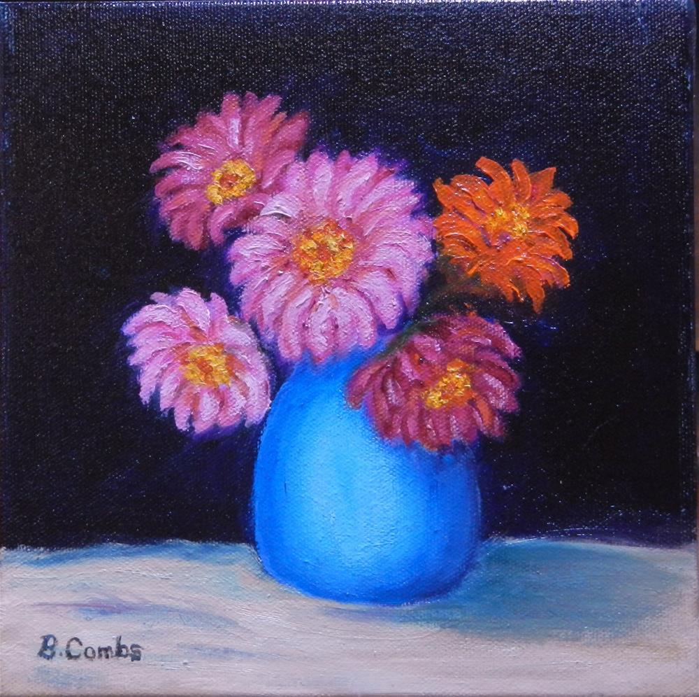 """""""Kay''s Flowers"""" original fine art by Bebe Combs"""