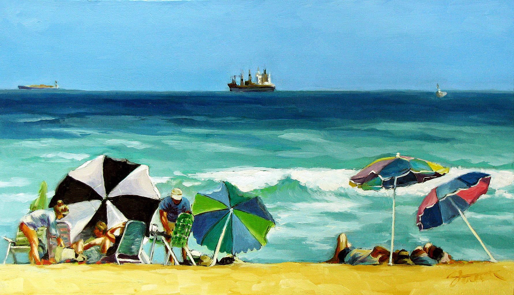 """Anchoring"" original fine art by Joanna Bingham"