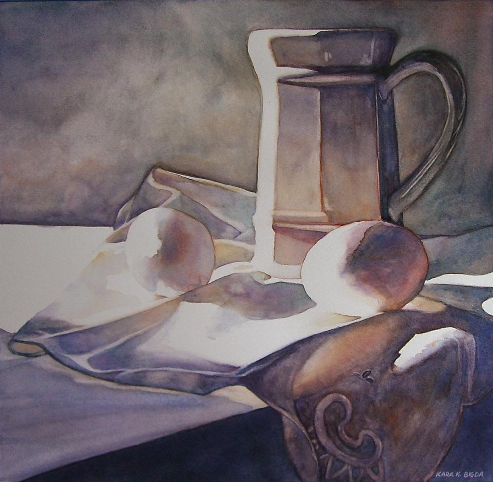 """White Light"" original fine art by Kara K. Bigda"