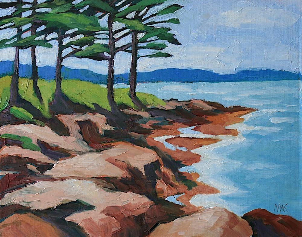 """West Bath, Maine"" original fine art by Mary Anne Cary"